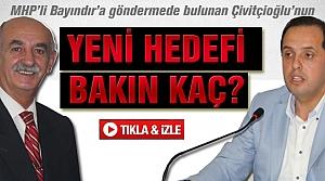 Salim Çivitçioğlu'nun  Yeni Hadefi bakın kaç?
