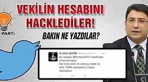 Vekil Şahin'in twitter hesabını hacklediler!