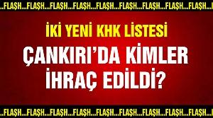 Yeni KHK ile Çankırı'da 14 personel ihraç edildi!