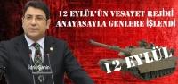 """12 Eylül darbe anayasası bu millete kambur"""
