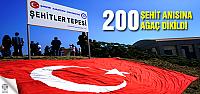 200 Çankırılı yiğit anısına 200 ağaç...
