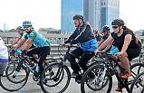 Bisikletle 3 Saatte 50 Kilometre Yol Yaptı