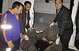 Zift birikintisine batan köpeği AFAD ekipleri kurtardı