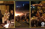 Çerkeş'te vatandaşlar geceyi sokaklarda geçirdi!