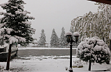 Ilgaz Dağına Mevsimin ilk karı düştü!
