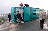Çankırı'da Cenazeye giden otobüs devrildi: 25 yaralı