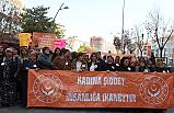 Çankırı'da 'Kadına Şiddet İnsanlığa İhanettir' Yürüyüşü
