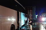 Çankırı'da otobüs kazası! 1 ölü , 19 yaralı