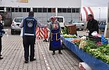 Çankırı'da İzole Pazar kuruldu!