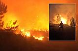 Atkaracalar'da orman yangını!