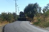 Hacımuslu köyünde eksik kalan asfalt yeniden döküldü!