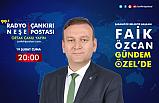 Şabanözü Belediye Başkanı Faik Özcan, Gündem Özel Programı canlı yayınına konuk oluyor.