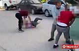 Çankırı'da sokak ortasında şiddete tutuklama geldi