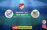 Orduspor 1967 – Bolu Abantspor final karşılaşması Çankırı Postası'nda...