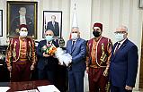 Ahilik Komitesinden Başkan Esen'e anlamlı ziyaret