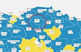 Çankırı Kovid-19 aşı haritasında mavi renge döndü