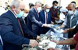 Çankırı'da vatandaşlara Ahi Pilavı ikram edildi