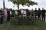 Edirne'de yangın var diye geldiler, 'mumları' söndürdüler