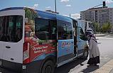 Sincan Belediyesi pazar alanlarında ücretsiz servis hizmeti sunuyor