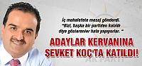 Ak Parti'de adaylar kervanına Şevket Koç'ta katıldı!
