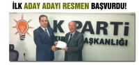 AK Parti'de ilk aday adayı resmen başvurdu!