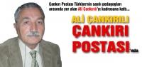 Ali Çankırılı Çankırı Postası'nda