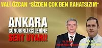 Vali Özcan'dan Ankara günü birlikçilerine...
