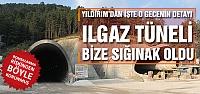Başbakan Yıldırım  Ilgaz Tüneli bize sığınak oldu!