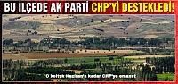 Bu ilçede Ak Parti CHP'yi destekledi!