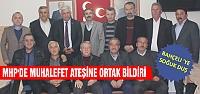 Çankırı MHP'de muhalefet ateşine ortak bildiri