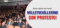 Çankırı Milletvekillerine şok protesto!
