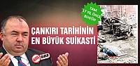 Çankırı tarihinin en büyük suikasti!