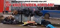 Çankırı Uluyazı da çöp krizi yeniden hortladı!