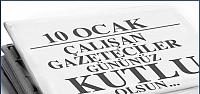 Çankırı'da 10 Ocak Gazeteciler Günü Mesajları