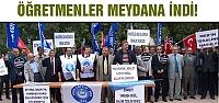 Çankırı'da Öğretmenler sokağa indi!