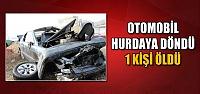 Çankırı'da otomobil hurdaya döndü! 1 kişi öldü...