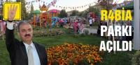 Çankırı'da Rabia Parkı açıldı!