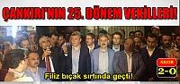 Çankırı'da seçimleri AKP 2-0 aldı!