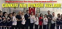 Çankırı'nın boksör kızları