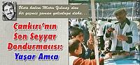 Çankırı'nın Son Seyyar Dondurmacısı: Yaşar Amca