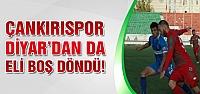 Çankırıspor Diyarbakırspor'a iki golle boyun eğdi!