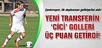 Çankırıspor, ilk deplasman galibiyetini aldı!