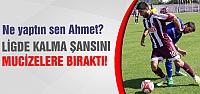 Çankırıspor ligde kalma şansını mucizelere bıraktı!