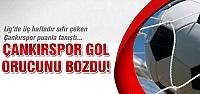 Çankırıspor sezonun ilk golünü ağlarla buluşturdu!