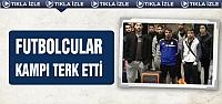 Çankırısporlu futbolcular Antalya kampını terk etti!