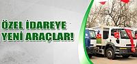 Çevre ve Şehircilik Bakanlığından Çankırı'ya 4 çöp kamyonu