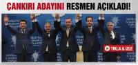 Erdoğan, Çankırı adayını resmen açıkladı!