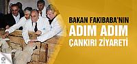 Gıda, Tarım ve Hayvancılık Bakanı Fakıbaba, Çankırı'da