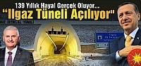 Ilgaz Tüneli Cumurbaşkanı Erdoğan'ın katılımı ile açılıyor
