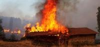 Ilgaz'da korkutan yangın